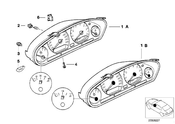 12v 3w Bulb Car
