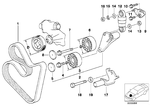1997 bmw 740il engine diagram