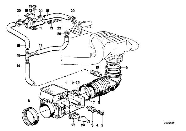 E28 518i M10 Idle Control Valve